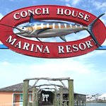 Pier/ Front entrance to the Conch House.
