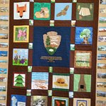 Handmade Quilt celebrating the 100th Birthday of the National Parks