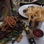 Steak sandwich options, Rock'N Fish , 120 Manhattan Beach Blvd, Manhattan Beach, CA