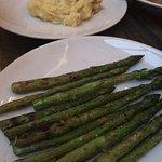 Asparagus side, Rock'N Fish , 120 Manhattan Beach Blvd, Manhattan Beach, CA