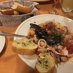 seafood and pasta. excellent