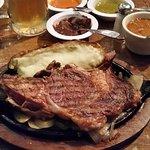 """Steak """"a la sal"""""""