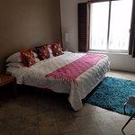Second-Floor Studio Bedroom - Tempur-Pedic Mattress and Street View