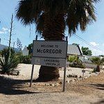 entrance to McGregor