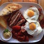 Gunther German breakfast, great!