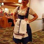 Server in the Bavarian Inn Restaurant--always Friendly and Excellent Service!