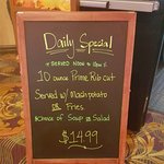 Daily special on Nov 13th 2016