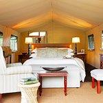 Luxury tents interior