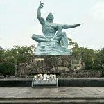 รูปปั้นในสวนสันติภาพ