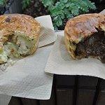 Fungi chicken & beef pie