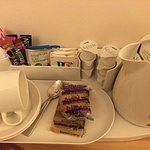 Complimentary tea/coffee and biscuits in room