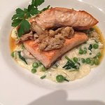 Salmon and crab...delightful