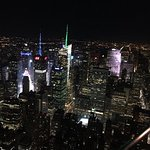 Night-time New York