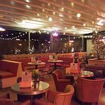 Roof Top Bar; fully heated and covered