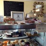 Bleu Squid - Bakery Case and Menu Board