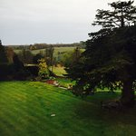 Valley suite has lovely views over the garden - top notch stay!