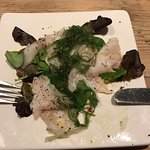 sea bass carpaccio,