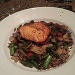 Salmon Quinoa Bowl (lunch portion)