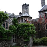 The front of Gwydir castle.