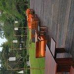 Vues chambre supérieure, piscine, vue de la piscine, jardin et restaurant du Costa Lanta resort