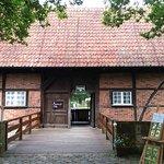 центральный вход в музей