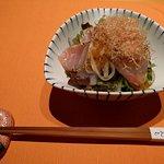 Otoshi: marinated raw fish