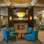 Lobby Seating wth Fireplace