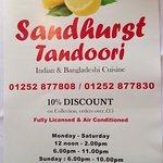 Sandhurst Tandoori