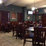 The Black Velvet dinning room