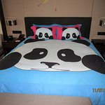 "Their ""panda"" suite"