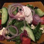 Excellent Greek salad.