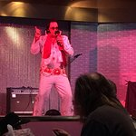 elvis impersonator at Hollywood Casino in Perryville, MD.