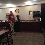 Continental breakfast room, R & R Inn Motels, n 621 12th Street, Bassano, Alberta