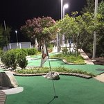 Miniature golf.