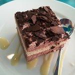 Mini tarta de chocolate