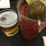 Bloody Mary + Beer Chaser