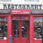 METZ (FRA). Restaurant L'Assiette & Le Verre. 29 Place de Chambre.