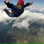 A skydiving student learning the basics :)