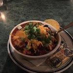 The veg chili is fantastic!