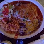 Chili Relleno $9.99, relleno nothing much but egg batter, skimpy plate for the $$, to me....