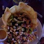 Pueblo Viejo Chicken Taco Salad $11.50