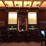 The lobby bar area