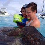 Playing with stingrays