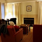 Sitting area in room 1322