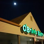 O'Brien's Bistro under a full moon