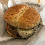 Good ole juicy burger