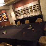 Wine cellar board room