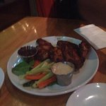 Hello bar & grill fans   Nice place/vibe and great food. Grilled wings not fried ; live band eve