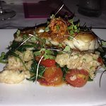Fresh Grouper from Florida over Risotto
