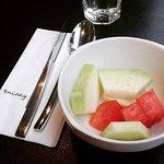 I always take fruits to start my breakfast :)